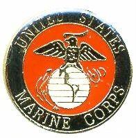 Ціна Знаки ідентифікації, шеврони / USMC Marines EGA Hat Lapel Pin