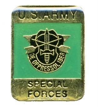 Ціна Знаки ідентифікації, шеврони / US Army Special Forces Hat Lapel Pin