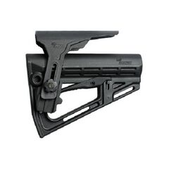 IMI ZS201 - TS-1 Tactical Stock with Polymer Cheek Rest W/Ovemolded buttplate