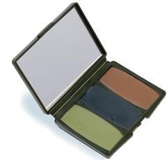 Hunter's Specialties Camo-Compac® 00260 3 Color Woodland Makeup Kit