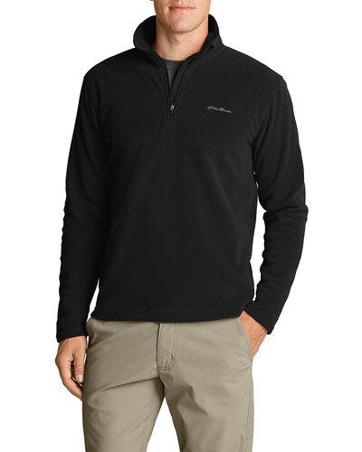 Ціна Кофти та светри, фліс / Eddie Bauer Men's Quest 150 Fleece 1/4-Zip Pullover 0675