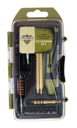 Ціна Чистка зброї / Tac Shield 0396 14 Piece Pistol Cleaning Kit