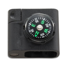 Аксесуар для паракордового браслету CRKT Survival Bracelet Accessory 9701 - Compass and Firestarter