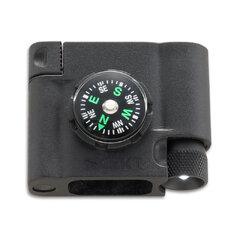 CRKT 9703 Survival Bracelet Accessory - Compass, LED, and Firestarter