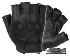 Damascus DashPro Premium leather driving gloves D22S (Half Finger)
