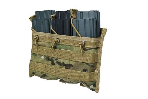 Ціна Підсумок для Магазинів гвинтівки (AR/М-серія та інші) / Підсумок для магазинів потрійний молле Shark Molle EV Universal Triple Mag Pouch 80063, 900D