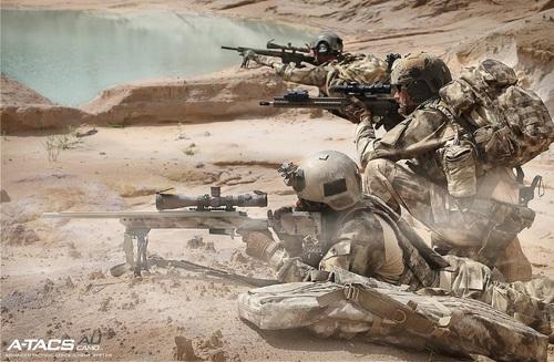 Ціна Військова форма / Військова форма Propper ARMY COMBAT UNIFORM COAT A-TACS F5459-38-379 BATTLE RIP® 65/35 POLY/COTTON RIPSTOP