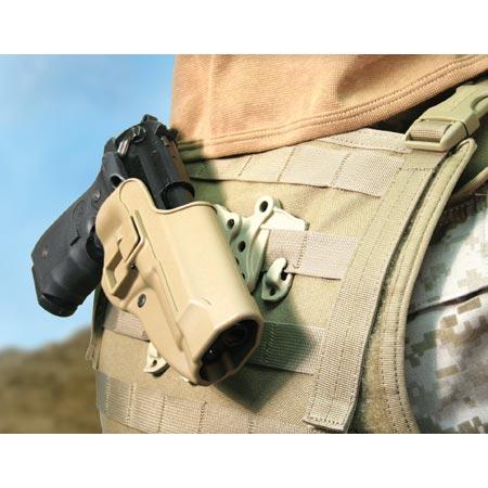 Ціна Полімерні кобури та аксесуари / Полімерна кобура Blackhawk SERPA Strike/Molle holster 40CL01 (Beretta)
