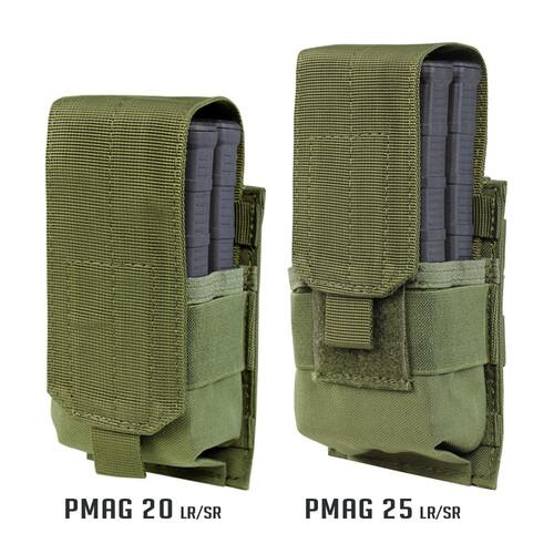 Ціна Підсумок для Магазинів гвинтівки (AR/М-серія та інші) / Підсумок для магазину AR10 Condor Single AR10/M14 Mag Pouch - Gen II 191088