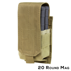 Condor 191088: Single M14 Mag Pouch - Gen II