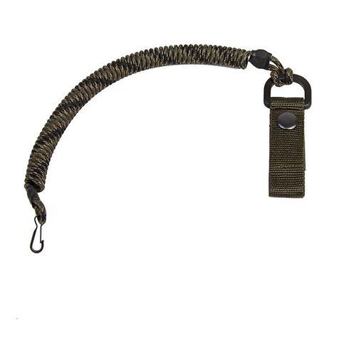 Ціна Пістолетний страхувальний шнур / EDCX Страхувальний шнур із карабіном, та кріпленням на пояс FSC0003