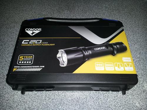 Ціна Ліхтарі / Condor C20 Tactical Flashlight 231090