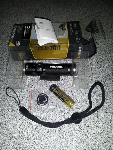 Ціна Ліхтарі / Тактичний ліхтар Condor C05 EDC Flashlight 231084