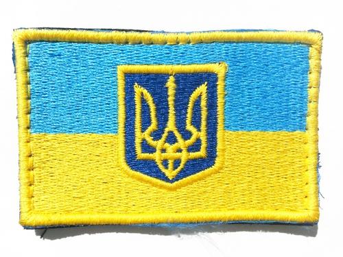 Ціна Знаки ідентифікації, шеврони / Шеврон патч UA KVF F03 Прапор України з гербом