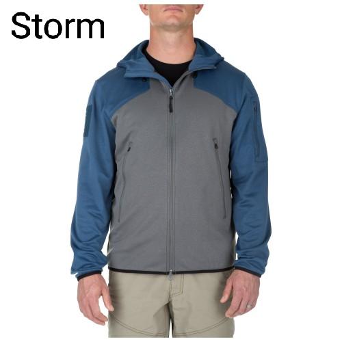 Ціна Кофти та светри, фліс / Реглан тактичний із блискавкою та капюшоном 5.11 REACTOR FZ HOODIE 2.0 72439