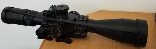 Ціна Оптичні, коліматорні та діоптричні приціли / Оптичний приціл BSA TMD 4-14x44 IR, D30, FFP (легке б/в)