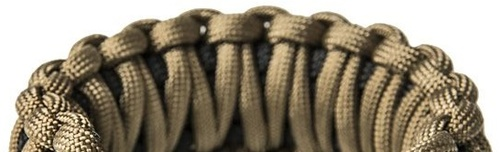 Ціна Паракорд, вироби з нього та аксесуари Paracord / Паракордовий Браслет виживання EDCX FSB0053, плетіння Подвійна кобра зі свистком, кресалом та компасом