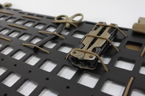 Ціна Панель molle для автомобільного сидіння, у рюкзак / GearLab Molle Carrier Panel Type B