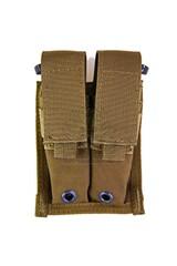 Pantac Molle 9mm Pistol Double Mag Pouch PH-C202, Cordura