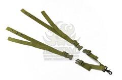 Триточковий ремінь для зброї на плитонос Pantac One Point Sling For Ciras SL-N042