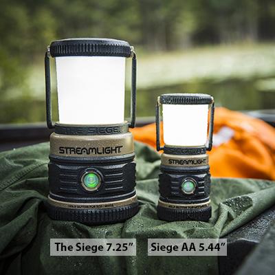 Ціна Ліхтарі / Польовий ліхтар Streamlight SIEGE® Outdoor Lantern, Coyote Ultra-Compact Floating 44931