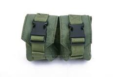 Pantac PH-C876 Molle Dual Fragment Grenade Pouch, Cordura