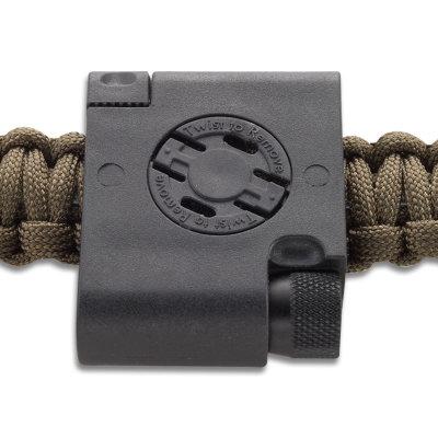 Ціна Паракорд, вироби з нього та аксесуари Paracord / CRKT Survival Bracelet Accessory 9701 - Compass and Firestarter