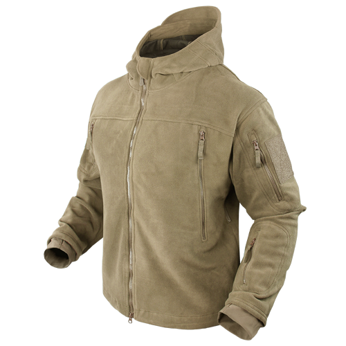 Ціна Кофти та светри, фліс / Тактична флісова куртка Condor SIERRA Hooded Fleece Jacket 605