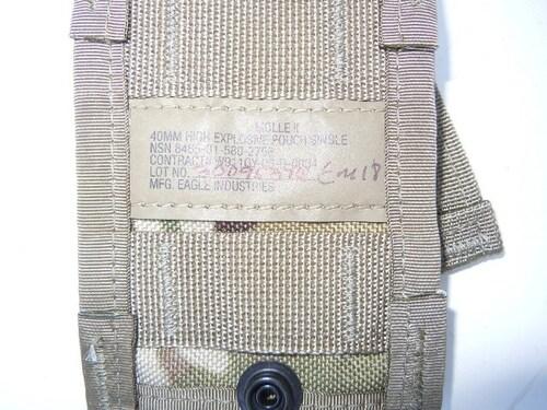 Ціна Підсумок для Гранат Підствольні / USGI Molle II 40mm High Explosive Pouch, Single