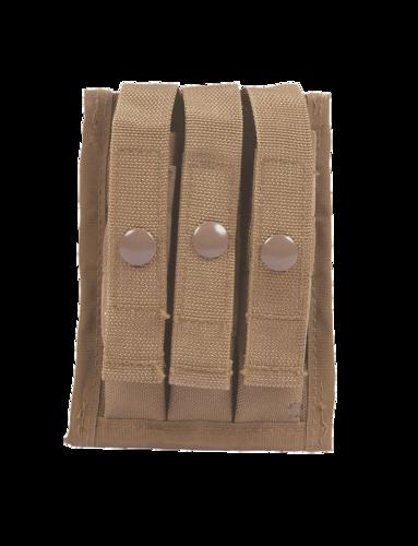 Ціна Підсумок для Магазинів пістолетних / Підсумок потрійний для пістолетних магазинів 5 Star Gear M.O.L.L.E. COMPATIBLE 9MM THREE MAG AMMO POUCH 6593