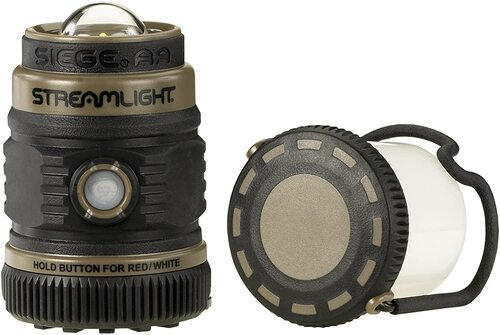 Ціна Ліхтарі / Streamlight SIEGE® AA Outdoor Lantern, Coyote Ultra-Compact Floating 44941