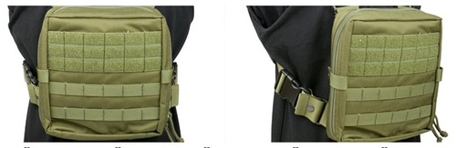 Ціна Нагрудники (Chest Rigs) / Pantac Molle EV Universal Lowprofile Chest Rig PH-C881, Cordura (discontinued)