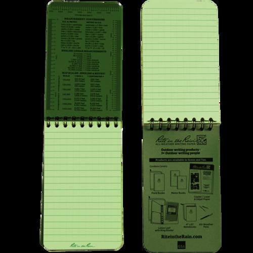 """Ціна Засоби поміток та маркувань / Rite In The Rain 935 Universal Polydura 7,6*12,7 (3""""x5"""")"""