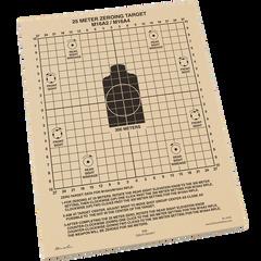 Всепогодні мішені для пристрілки Rite In The Rain 9125 25 METER ZEROING TARGET