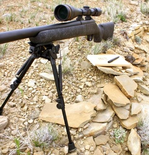 """Ціна Сошкі, та руків'я із сошками / Тактичні посилені сошки Tac Shield 13""""-21"""" Heavy Duty Pivoting Bipod T9503P"""