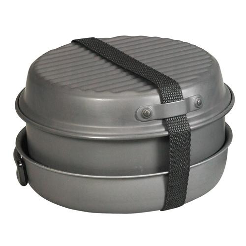Ціна Посуд та столове приладдя / Польовий столовий набір NDuR 9 PIECE COOKWARE MESS KIT W/KETTLE 22900