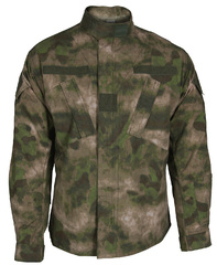 Propper ARMY COMBAT UNIFORM COAT A-TACS F5459-38-381 BATTLE RIP® 65/35 POLY/COTTON RIPSTOP