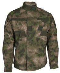 Tru-Spec TRU 1/4 ZIP Combat Shirt, A-TACS IX, NYCO Rip-Stop