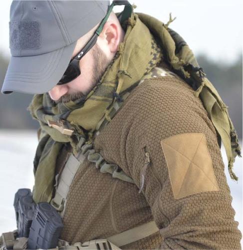 Ціна Кофти та светри, фліс / Флісова куртка Helikon-Tex ALPHA TACTICAL JACKET - GRID FLEECE BL-ALT