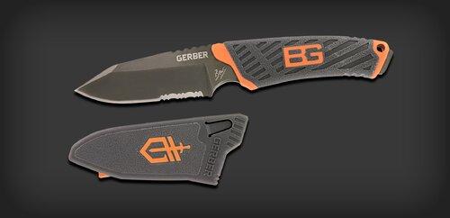 Ціна EDC та щоденні ножі / Gerber Bear Grylls Compact Fixed Knife 31-001066