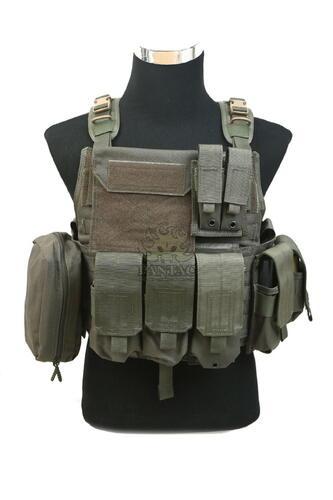 Ціна Плитоноска (Плейт керріер та Бронежилет) / Плитонос тактичний молле Pantac MBAV Strike Plate Carrier VT-C601, Cordura