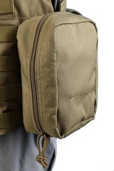 Shark 80003206 Molle Medic/Utility Pouch, 900D