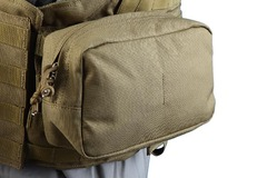 Shark 80002205 Molle Ultility Pouch, 900D