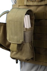 Shark 80001208 Molle M16 Single Mag Pouch, 900D (discontinued)
