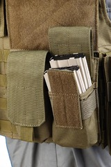 Shark 80001207 Molle M16 Double Mag Pouch, 900D (discontinued)