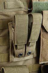 Подвійний підсумок для пістолетних магазинів молле Shark Molle 9mm Pistol Double Mag Pouch 80001202, 900D