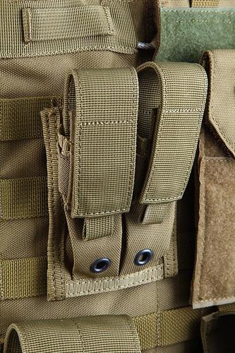 Ціна Підсумок для Магазинів пістолетних / Shark Molle 9mm Pistol Double Mag Pouch 80001202, 900D