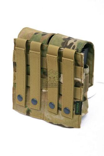 Ціна Підсумок для Магазинів гвинтівки (AR/М-серія та інші) / Shark Gear Molle AR10/M14 Double Dual-Mag Pouch 80213, 900D (discontinued)