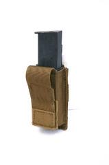 Підсумок для пістолетного магазину молле Pantac Molle Single .45 Mag Pouch With Hard Insert PH-C802, Cordura