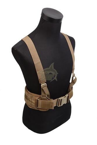 Ціна Ременеві Плечові Системи (РПС), розвантажувальні пояси, ремені, жилети та стегнові панелі / Shark Gear Molle Cummerbund with Y-shape Suspender 30002002, 900D